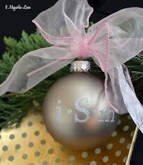 easy diy monogrammed christmas ornaments 11 magnolia lane