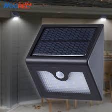 driveway motion sensor light hooree sl 830 16led solar light outdoor waterproof wireless solar