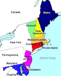 usa map northeastern states northeast region labeled northeast region map of the united