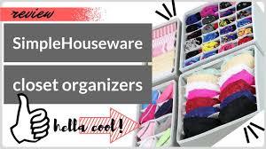 Underwear Organizer Review Simplehouseware Closet Underwear Organizer Drawer Divider
