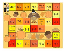 thanksgiving board math and literacy by meghan snable tpt