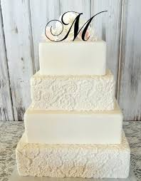 g cake topper letter r cake topper 5 initial monogram wedding