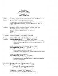 Sample Objective For Teacher Resume 100 Sample Resume Objectives Teachers Classic 20 Dark Blue