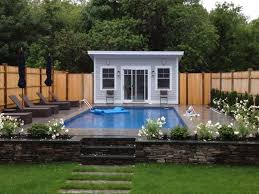 poolhouse small pool house plans beauty home design