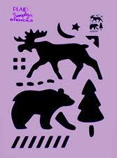 moose template moose stencil ebay