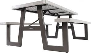 Lifetime Outdoor Furniture 60030 W Frame 6 Foot Folding Picnic Table Bench