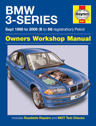 bmw 3 series petrol sept 98 06 haynes repair manual haynes