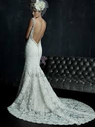 low back wedding dresses fitted lace low back wedding dress naf dresses