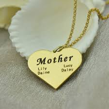 Kids Name Necklaces Necklace For Mom