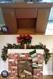 best 25 cardboard fireplace ideas on pinterest diy christmas