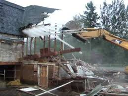 Barn Demolition Hip Roof Barn Demolition Youtube
