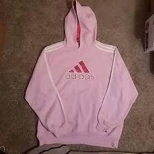 light pink adidas sweatshirt adidas tops size large light pink fuchsia hoodie poshmark