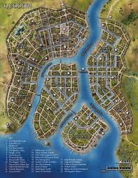 Agartha Map Map Of The City Of Quodeth Fantasy Maps Pinterest Mappen