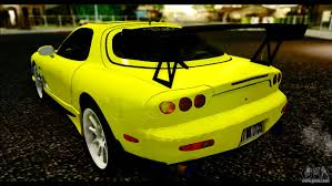 mazda rx7 drift mazda rx 7 drift for gta san andreas