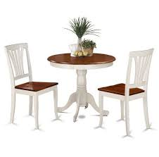 c chef mesa aluminum c table 3 piece dining set dinette solid wood round table 2 chairs dining