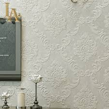Black Damask Wallpaper Home Decor by Compare Prices On Embossed Damask Wallpaper Online Shopping Buy