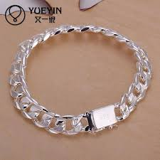 silver plated charm bracelet images H032 new women silver plated charm bracelet sterling silver jpg