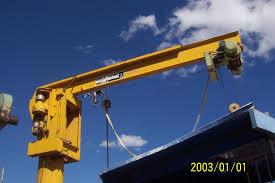 f s jib crane abell howe 3 ton
