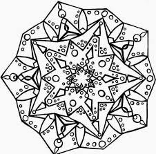 5 dimension advance mandala coloring pages print picture kids