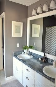 interior design bathrooms bathroom interior frames for mirrors framed large white pertaining