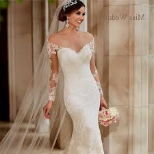 lace wedding dresses with sleeves wedding dresses neckline lace sleeves naf dresses