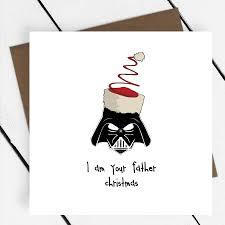father christmas u0027 star wars card piece