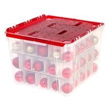 storage bins plastic lid ornament storage box boxes walmart