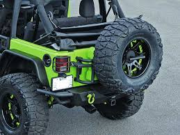 jeep wrangler jk tires or fab swing a way tire carrier with rotopax containers for 07 17
