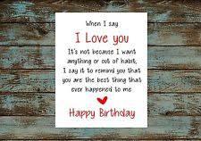 girlfriend birthday card ebay
