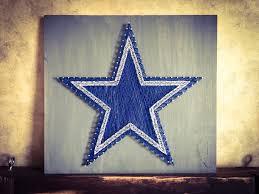 dallas cowboys string art
