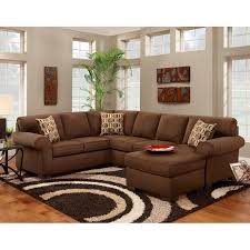 Chelsea Sectional Sofa Chelsea Home Adams 2 Piece Sectional Patriot Chocolate Hayneedle