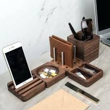 Mac Desk Accessories Wood Desk Accessories Minimal Wood Mac Desk Maple Desk Home Office