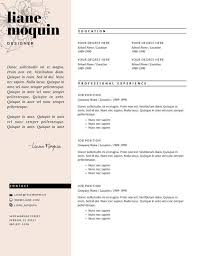 Makeup Resume Examples by 8 Best Cv Images On Pinterest Resume Templates Cover Letters