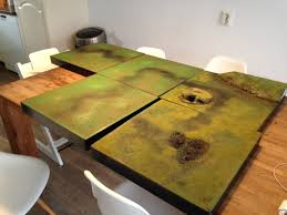 making a gaming terrain table on the cheap echoes from the warp