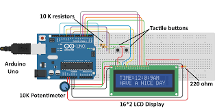 simple arduino digital clock without rtc arduino project hub