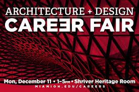 department of architecture and interior design miami university architecture design career fair
