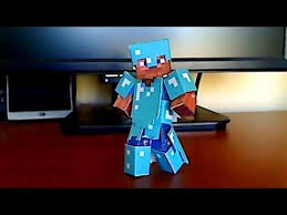 how to make minecraft papercraft armor for your bendable steve