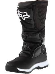 kids motorbike boots fox black 2018 comp 5y kids mx boot fox freestylextreme