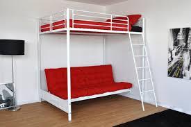 mezzanine avec canapé lit mezzanine avec armoire affordable lit mezzanine avec armoire et