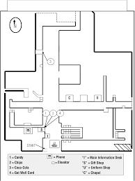 gift shop floor plan multiple errands test u2013revised met u2013r a performance based measure