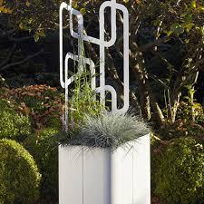 flora paro planter and trellis unique modern design u0026 german quality
