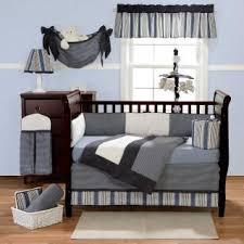 Navy Nursery Bedding Gray Infant Bedding 3pc Striped Grey White Black Blue U0026 Navy