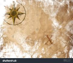 Old Treasure Map Old Paper Texture Treasure Map Stock Illustration 15130540
