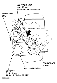 2000 honda accord serpentine belt routing and timing belt diagrams