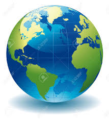 earth globe map the earth globe map major tourist attractions maps