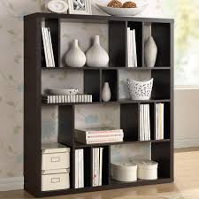 Dark Bookcase Bookcase Unfinished Furniture Decor The Home Depot