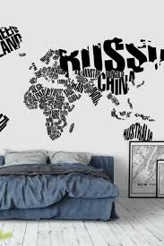 Wall Map Murals World Map Mural Black And White Copy 33 Best Map Wall Murals