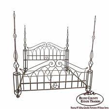 Iron Headboard And Footboard by Wrought Iron Headboards And Footboards Ebay