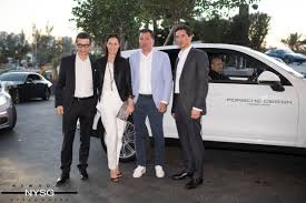 porsche design tower car elevator porsche design and dezer development announce grand opening of