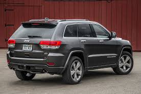 wrecked black jeep grand cherokee test drove a 2014 grand cherokee overland turbo diesel grassroots